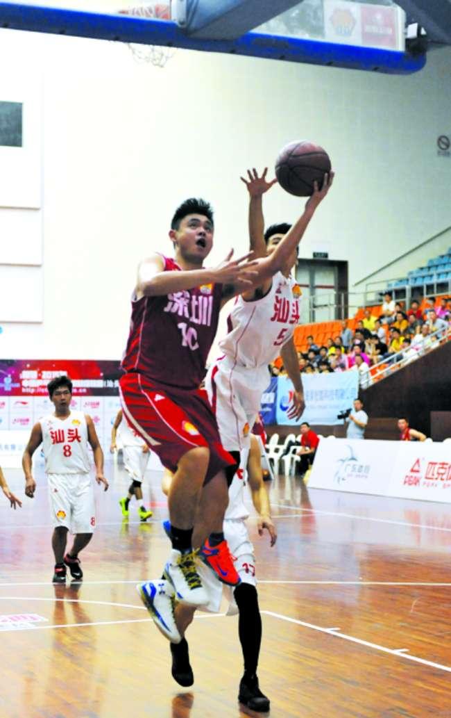 省篮球联赛:汕头队主场不敌深圳队