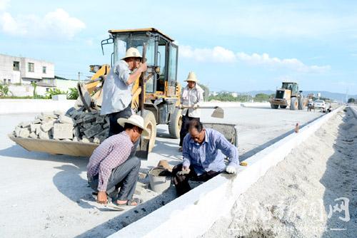 蓝城区:前5月交通基础设施建设投入17550万